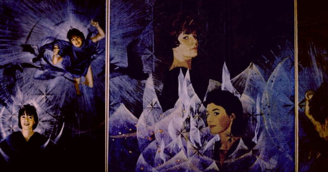 Triptych (most of it) by Charles Marchant Stevenson (1964).