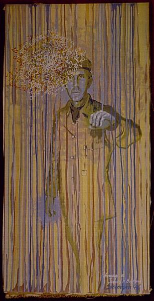 Amazed: James H. Bertram, portrait by Charles Marchant Stevenson (1968). Acrylic on canvas. SKU: CS196840