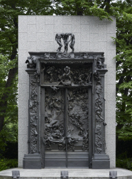 The Gates of Hell at the National Museum of Western Art, Ueno Park, Tokyo. Photo: Norihiro Ueno.