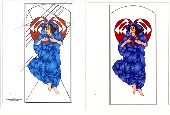 Mary: studies by Charles Marchant Stevenson and Pamela Hunter.
