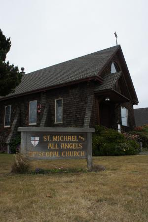 St. Michael and All Angels Episcopal Church, 201 E. Fir Street, Fort Bragg California.