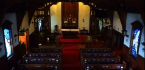 The Sanctuary and Altar at St. Michael and All Angels. Photo: Karin Faulkner