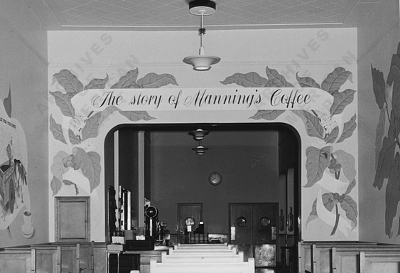 The story of Manning's Coffee. Manning's Coffee Murals by Dorr Bothwell (1940). Archives of American Art.