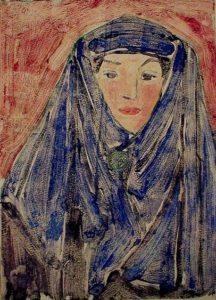 Rubelli portrait of Dorr Bothwell (1923).