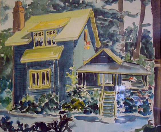 Marin (1968). Commissioned watercolor by Bill Zacha. WZ196800