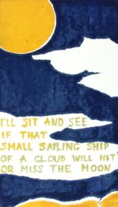 Frost 2 (1971). Serigraph by William Zacha. WZ197102