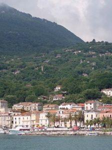 Scario, Italy below Monte Bulgheria (2008).