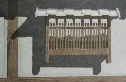 Nara (1980). Serigraph by William Zacha. WZ198004