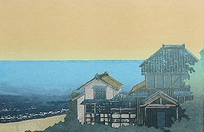 Shiranuka (1982). Serigraph by Bill Zacha. WZ198250