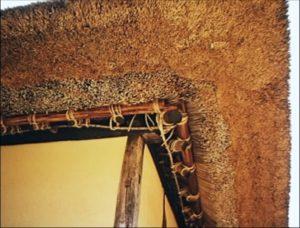 Construction detail of the Miasa Hemp House